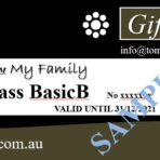 Father's day gift voucher for 3 courses